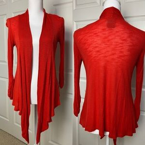 h.i.p. Red Lightweight Asymmetrical Layering Wrap